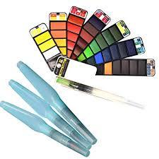 Rolin Roly 1 Piece Foldable Fan Shaped Watercolour ... - Amazon.com
