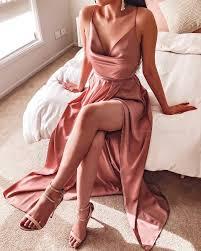 Samira Maxi Dress - <b>Dusty Pink</b> – Honey <b>Peaches</b>