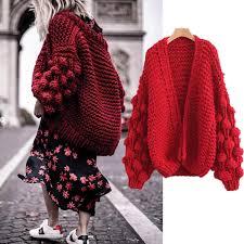 TryEverything <b>Knitted Cardigan Women</b> Long Sleeve Autumn <b>Jacket</b> ...