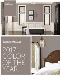 living room popular  sherwin williams color of the year poised taupe