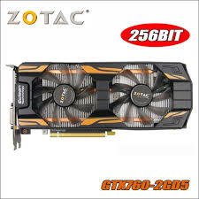 <b>Original ZOTAC Video Card</b> GeForce GTX760 2GD5 Thunderbolt ...