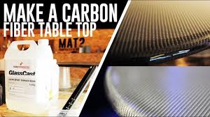 <b>Carbon Fiber</b> Table Top - Glasscast epoxy pour - YouTube