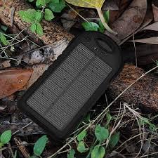 <b>Внешний аккумулятор</b> Setty на солнечной батарее 5000мАч ...