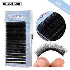 <b>GLAMLASH wholesale 10Cases</b> Lot 16rows 7~15mm mix faux mink ...