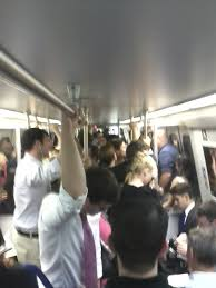 photo essay the metro rider s life the fly crowded train