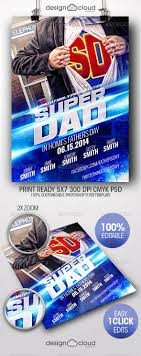 super dad father s day flyer template flyers dads and holiday super dad father s day flyer template holidays events