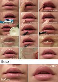 natural lip look tutorial finally something to make my lips look fuller