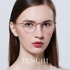 2019 <b>FENCHI</b> Unisex Man <b>Woman Glasses</b> Frame Retro <b>Round</b> ...