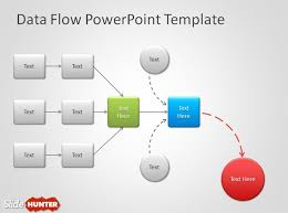 free data flow powerpoint templatedata flow diagram powerpoint