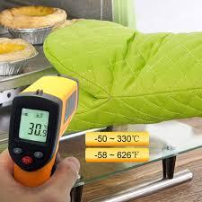 <b>Non Contact</b> LCD IR Laser Infrared <b>Digital</b> Thermometer <b>Portable</b> ...