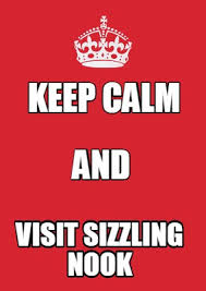Meme Maker - Keep calm visit sizzling nook And Meme Maker! via Relatably.com