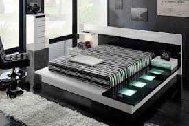 even a smaller bedroom could be decorated using this simple yet very pretentious color combination for this design to be a success the main condition is black and white furniture bedroom