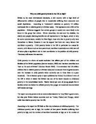 essay poverty an end to poverty in america essay   putting an end to poverty