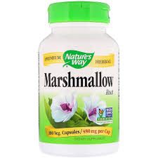 Отзывы Nature's Way, Marshmallow Root, <b>480</b> mg, 100 Veg ...