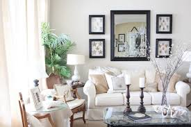 interesting beautify living room wall with wall mirrors together with rectangle pictures and rectangle mirror with beautiful living room pillar