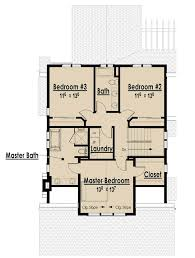 The Red Cottage Floor Plans  Home Designs  Commercial Buildings    Second Level   sq ft  The Arts and Crafts Bungalow   Without Garage I  HOME PLANS