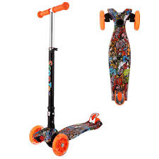 New Aluminum Alloy Kick Scooter Adjustable Height Best Gifts for ...