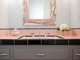 pink bathroom mississauga house reasons to love retro pink tiled bathrooms decorating and design