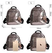 Women PU Leather Backpack <b>Mini</b> Backpack Cute Back pack ...