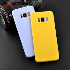 <b>Soft TPU Candy Color</b> Phone Case For Samsung Galaxy S6 S7 ...