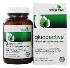 Gluco Active Cinnulin Cinnamon Extract - 60 Vegetarian ...