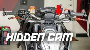 HIDDEN MOTORCYCLE DASH CAMERA! - YouTube