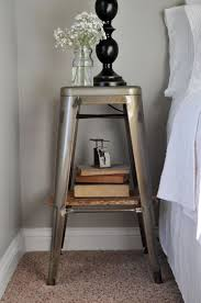 ideas bedside tables pinterest night:  ideas about night stands on pinterest nightstand ideas nightstands and decorating small spaces