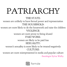 patriarchy defined known for her work in the fields of domestic patriarchy defined known for her work in the fields of domestic violence patriarchy