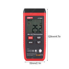 <b>UNI</b>-<b>T UT306A Digital Infrared</b> Thermometer Red Laser ...