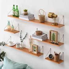 Buy 1 Piece Wall Shelf <b>Nordic Creative Living Room</b> Book Shelf ...