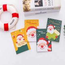 1pc/<b>lot</b> Kawaii <b>Cartoon</b> Santa Snowman Elk Pocket Notepad Cute ...