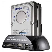 New <b>Martrea</b> IDE SATA HDD Docking Station + Card Reader Hub