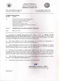 issuances deped iligan city division file