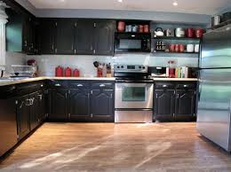 lovable diy blue kitchen ideas cabinet painted awesome black painted