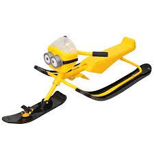 Купить <b>снегокат Snow Moto</b> Minion Despicable ME yellow 37018 в ...
