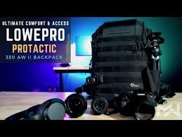 BEST in COMFORT & DESIGN - <b>LowePro Protactic BP 350</b> AW II ...