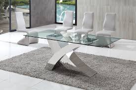 round glass extendable dining table:  dining table brizoni contemporary glass dining table with grey armani dining chairs round glass top