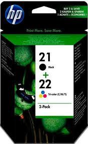 Струйный <b>картридж HP 21/22</b> (<b>SD367AE</b>) купить недорого в ...