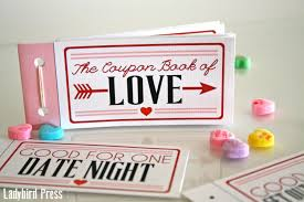 coupon diy printable valentines day gift love coupons coupon book valentine gift for husband boyfriend instant unique