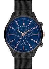 <b>Часы Wainer WA</b>.<b>19060B</b> - купить <b>мужские</b> наручные часы <b>в</b> ...