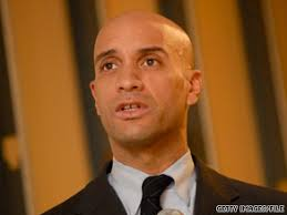 D.C. Mayor Adrian Fenty is in a tight race with City Council Chairman Vincent Gray for the Democratic primary, set for Tuesday. - art.adrianfenty.file5.gi