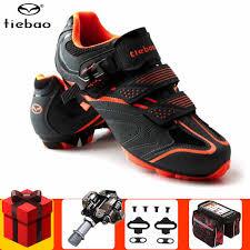 Tiebao <b>Cycling</b> Shoes add <b>Bicycle SPD pedal</b> set 2019 Men ...