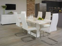 Modern White Dining Room Set Awesome White Dining Room Set For Inspirations Degreet