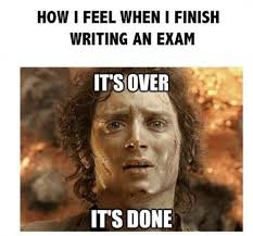 Exam Meme #Done, #Finish | MEMES & COMICS | Pinterest | Meme ... via Relatably.com