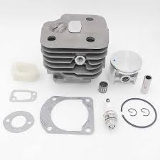 HUNDURE 50mm <b>Cylinder Piston</b> Gasket Kit For Husqvarna 362 ...