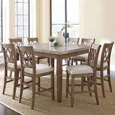 Timmins <b>9 Piece Solid</b> Wood Dining Set