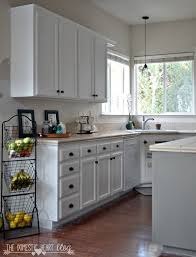 Kitchen Cabinet Makeover Diy Diy Painted Kitchen Cabinets Reveal