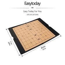 <b>Easytoday</b> Chinese <b>Chess Games</b> Set Portable Magnetic Folding ...