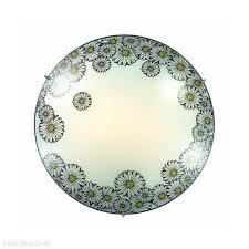 Настенно-потолочный <b>светильник</b> с ромашками <b>2215</b> «MILLE ...