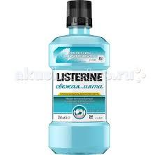 <b>Ополаскиватель</b> для полости рта <b>Свежая Мята</b> 250 мл <b>Listerine</b> ...